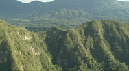 Flying through mountains in Bolivia Stock Footage