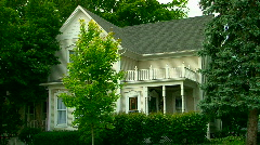Michigan's vintage & historic homes Stock Footage