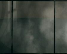 Loopable Smoke, Debris Outside Store Windows PAL Stock Footage