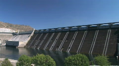Coulee Dam Stock Footage
