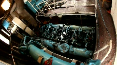 Boat engine Stock Footage