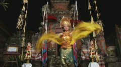 Bali 35 Dance Stock Footage
