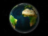 Globe slowly spinning loop Stock Footage