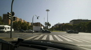 Stock Video Footage of timelapse sequence driving in Valencia City in Spain, Europe - Full HD
