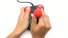 Retro Joystick Stock Footage