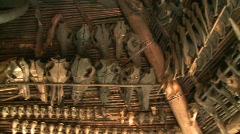 Ifugao bone collection 1 Stock Footage
