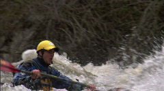 Whitewater Kayak SloMo 2 Arkistovideo