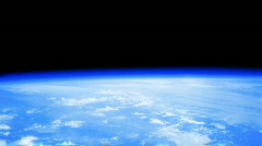 World globe atmosphere Stock Footage