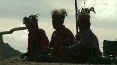 Ifugao people 1 Stock Footage