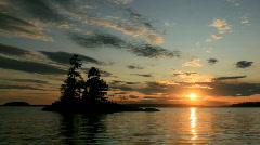 Sunset (zoom) - stock footage