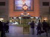 Grand Central Station Clock New York 640x480 Stock Footage