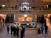 Grand Central Station Clock New York 320x240 Stock Footage