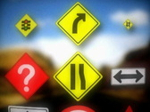 Sign choices and direction Stock Footage