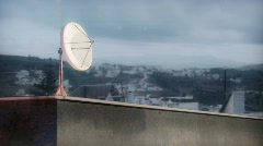 Other TV dish Stock Footage