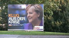 Angela Merkel Stock Footage