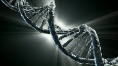 Stock Video Footage of DNA strand
