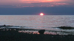 Sunset on the Lake 1 Stock Footage