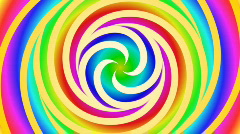 Spiral psychedelic Stock Footage