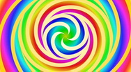 Stock Video Footage of spiral psychedelic