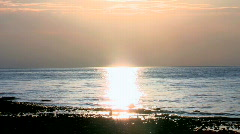 Sunset on the Lake 3 Stock Footage