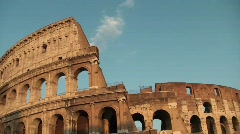 Colosseum Timelapse Stock Footage