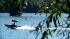 River Boater 890 Stock Footage