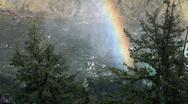 Yellowstone River rainbow P HD 2392 Stock Footage