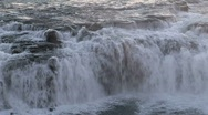 Iceland waterfall Stock Footage
