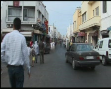 Maroc street Stock Footage