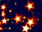 Stock Video Footage of bright stars glowing in space