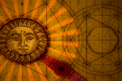 Sun and moon balance Stock Footage