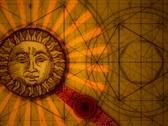 Sun and moon balance Stock Footage