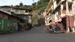 Batard hillside village     Stock Footage