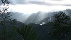 Banaue mountains     Stock Footage