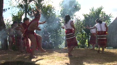 Ceremonial rites, dancing Stock Footage