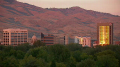 Boise Idaho City Skyline 11 59.94 Stock Footage