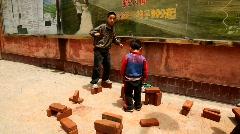 Kids playing game Stock Footage