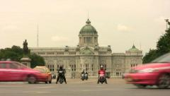 Ananta Samakhom Throne Hall In Bangkok, Thailand Stock Footage