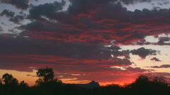 Sunsets Last Rays Stock Footage