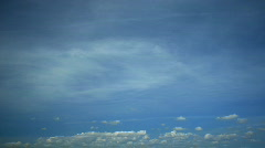 High Clouds - stock footage