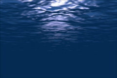 Ocean water in motion Stock Footage
