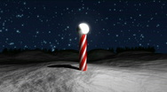 Stock Video Footage of Santa Claus Circling Village HD1080
