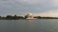 Stock Video Footage of Jefferson Memorial in Washington D.C.