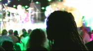 Outdoors festival Stock Footage