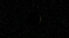 Orange Planet - stock footage