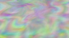 Color rainbow waves (seamless loop) Stock Footage