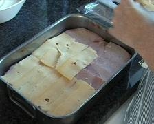 Preparing lasagna Stock Footage