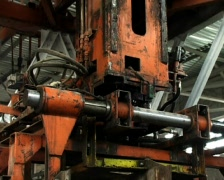 cinder block factory - stock footage