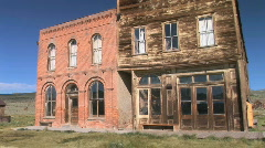 Ghost Town Hotel Stock Footage