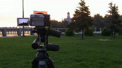Time Lapse. Digital camera shooting for scenery. Stock Footage